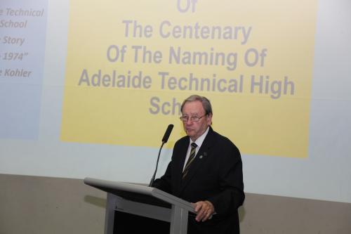 2018 ATHS Centenary - Presentations