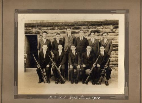 1931 Rifle Team