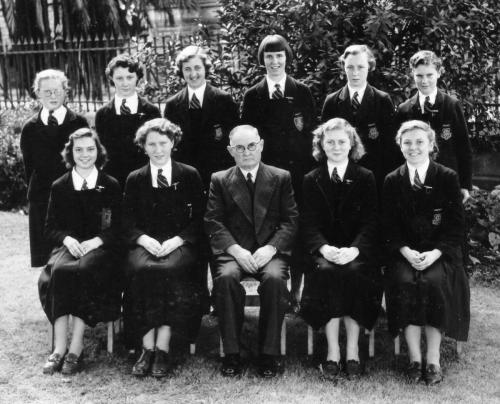 1953 Prefects Girls