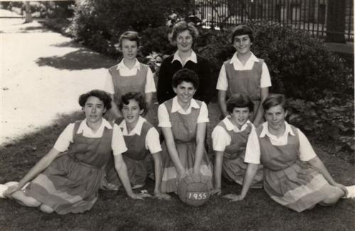 1955 Basketball A