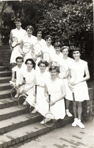 1955 Tennis Teams (Girls)