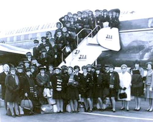 1966 Melbourne Trip (Girls)