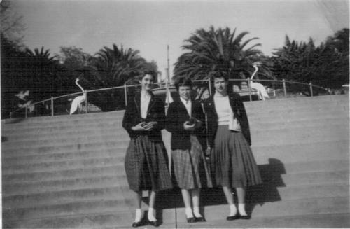 1956 Girls Trip to Melbourne