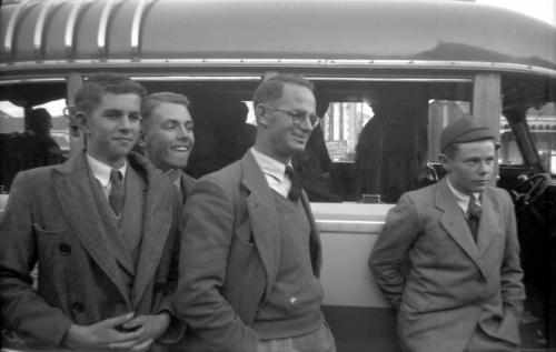 1949 Boys Trip to the West Coast